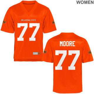 Women's  Limited Orange Oklahoma State Cowboys Alumni Jersey | Tyler Moore
